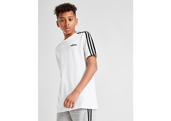 Comprar Ropa deportiva para niños online adidas 3-Stripes T-Shirt Junior, Black