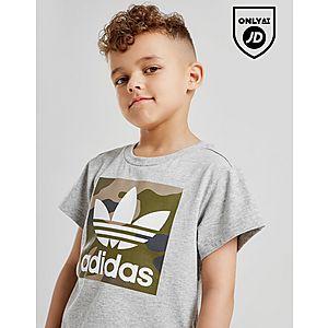 21ef32e23195 ... adidas Originals Camo Box T-Shirt Children