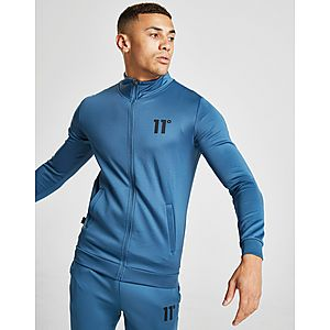 0e5aeede348f 11 Degrees Core Full Zip Poly Track Top ...