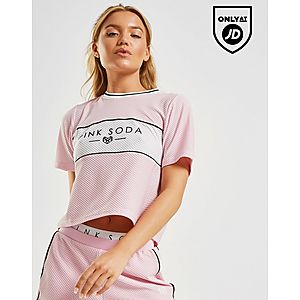 0f299ee659 Pink Soda Sport Colour Block Mesh T-Shirt ...