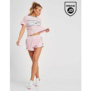 3d15425d221 ... Pink Soda Sport Colour Block Mesh T-Shirt