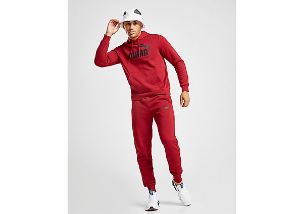 Puma Core Fleece Joggingbroek Heren - Red/Black - Heren