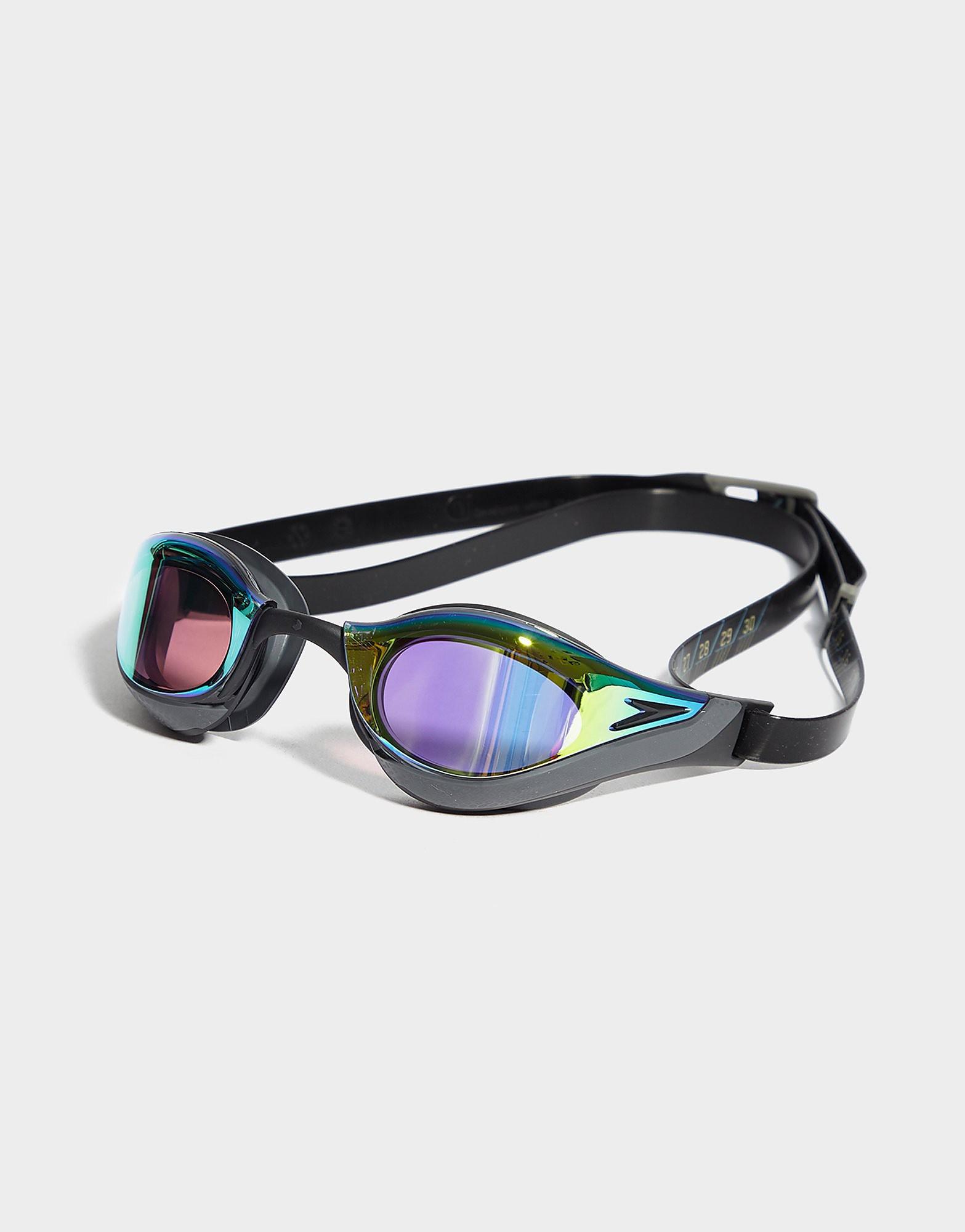Speedo Fastskin Pure Focus Mirror Goggles Zwart Heren