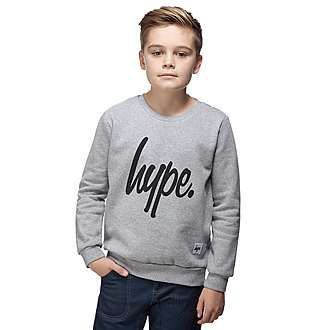 Hype Logo Crew Sweatshirt Junior