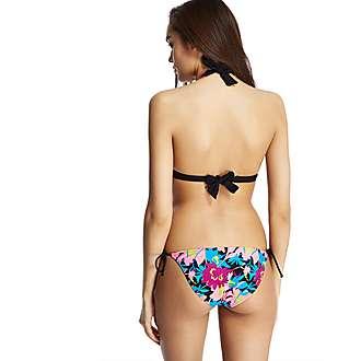 Sprinter Floral Triangle Bikini Top