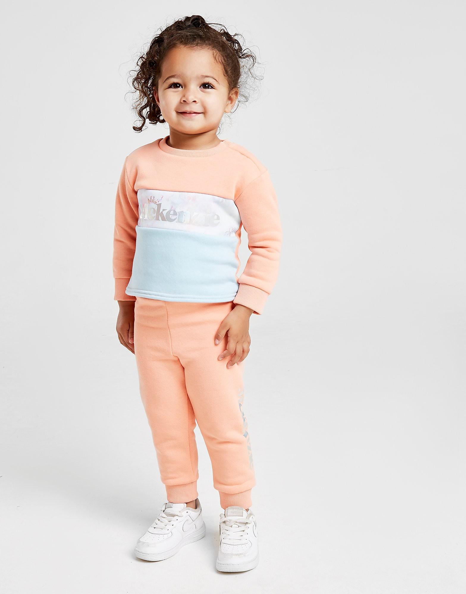 McKenzie Girls' Micro Amy Fleece Suit Baby's - alleen bij JD - Oranje - Kind