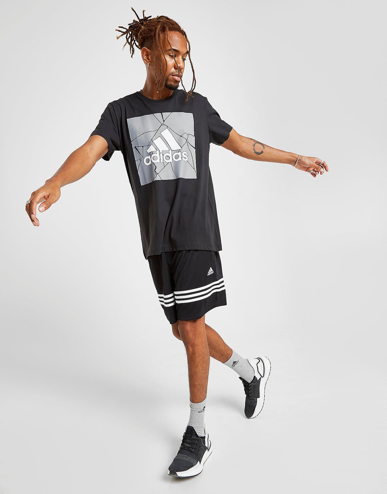 adidas Short Match Homme - Only at JD - Noir, Noir