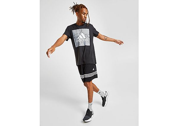 Adidas Match Football Shorts Heren - White - Heren
