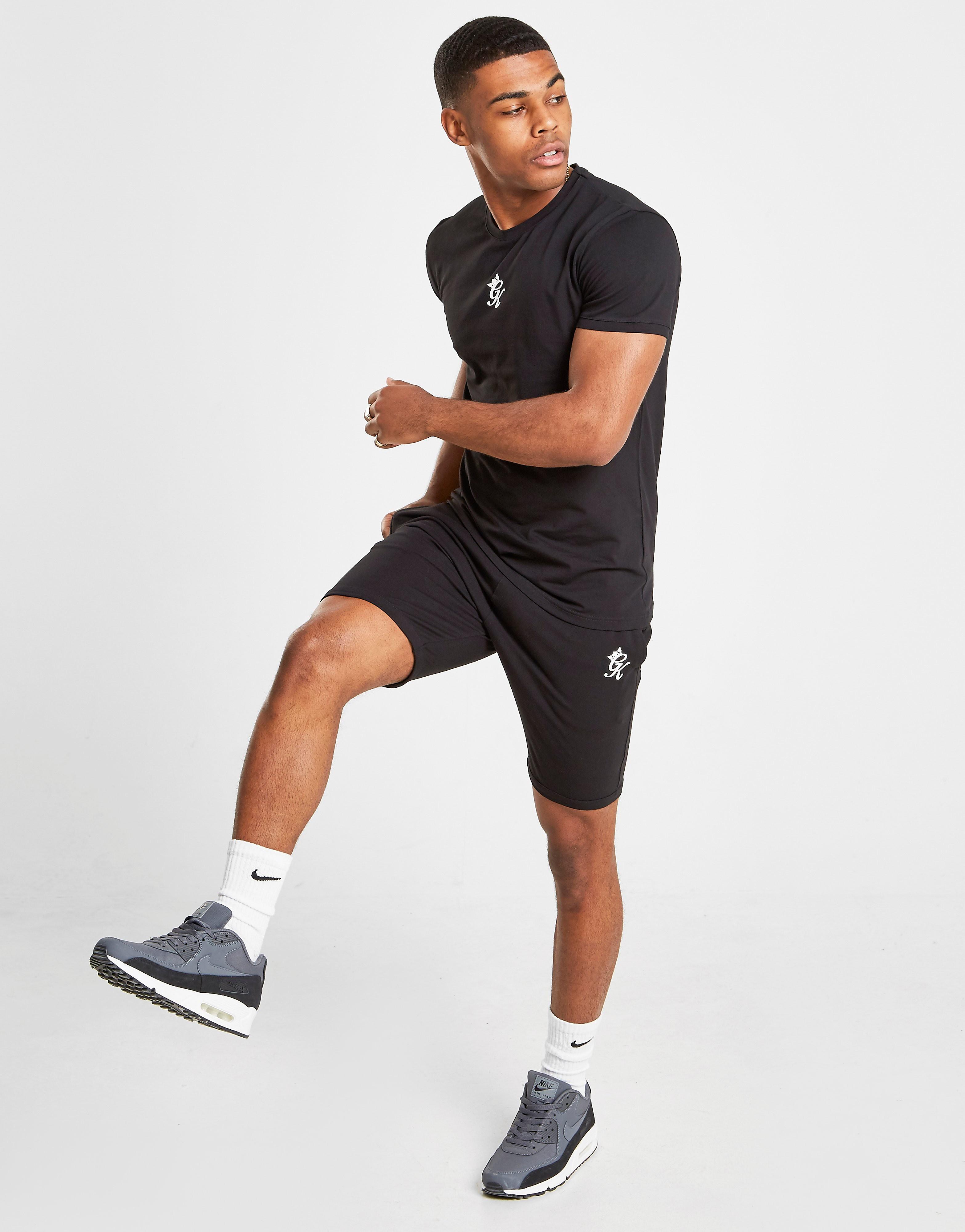 Gym King Jersey Shorts Heren - Zwart - Heren