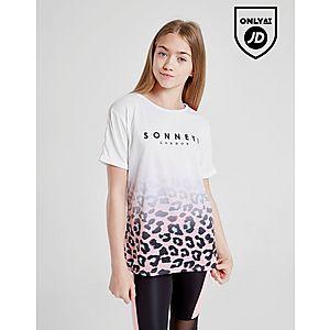 ef8e639a376a61 Sonneti Girls  Leopard Boyfriend T-Shirt Junior ...