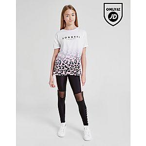 7157e993417ede ... Sonneti Girls  Leopard Boyfriend T-Shirt Junior