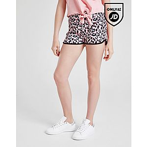 2819c590297045 ... Sonneti Girls  Shine Leopard Print Shorts Junior