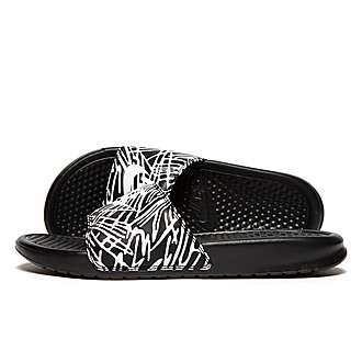 Nike Benassi Just Do It Print Slides Women's
