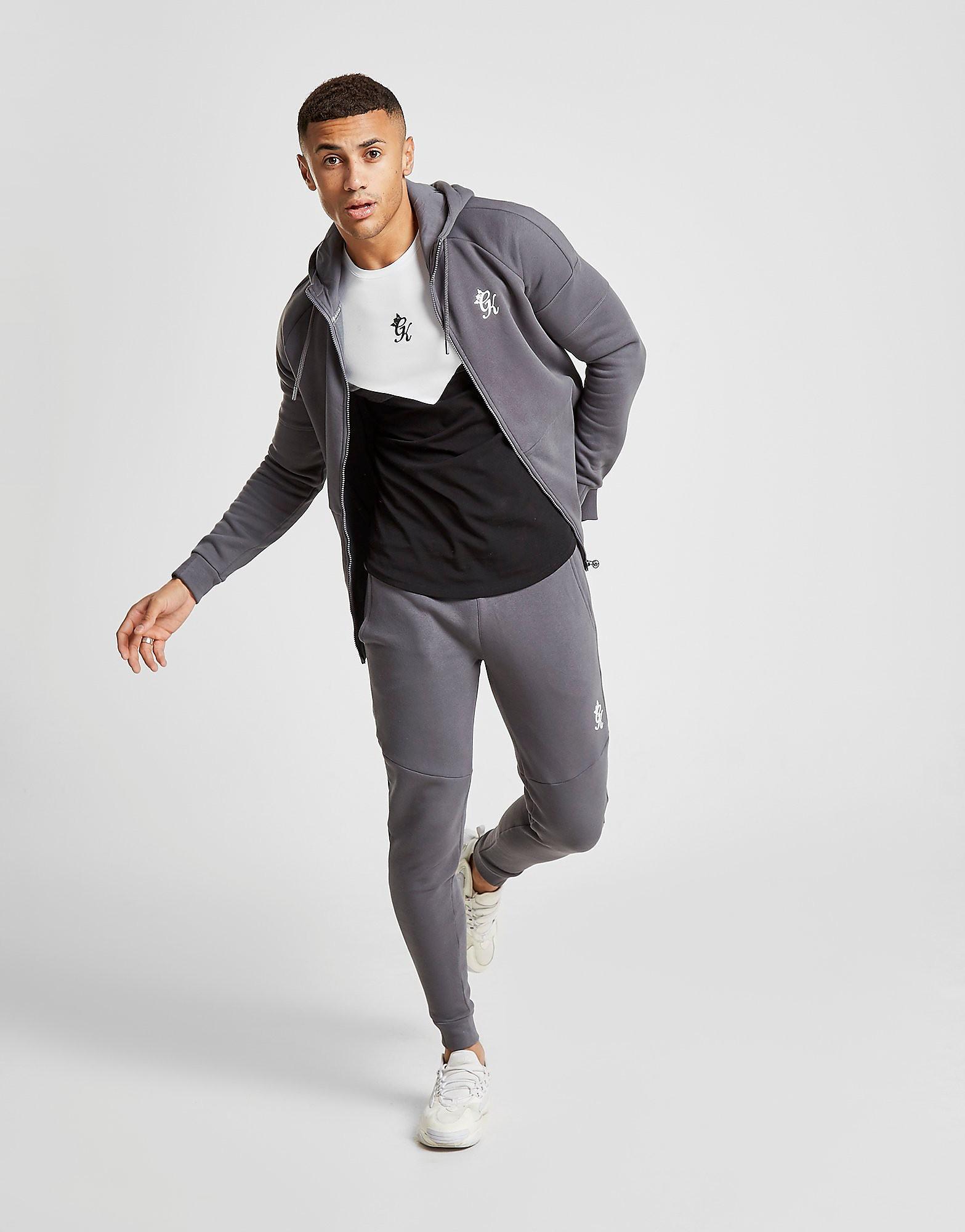 Gym King Core Plus Fleece Joggingbroek Heren - Grijs - Heren