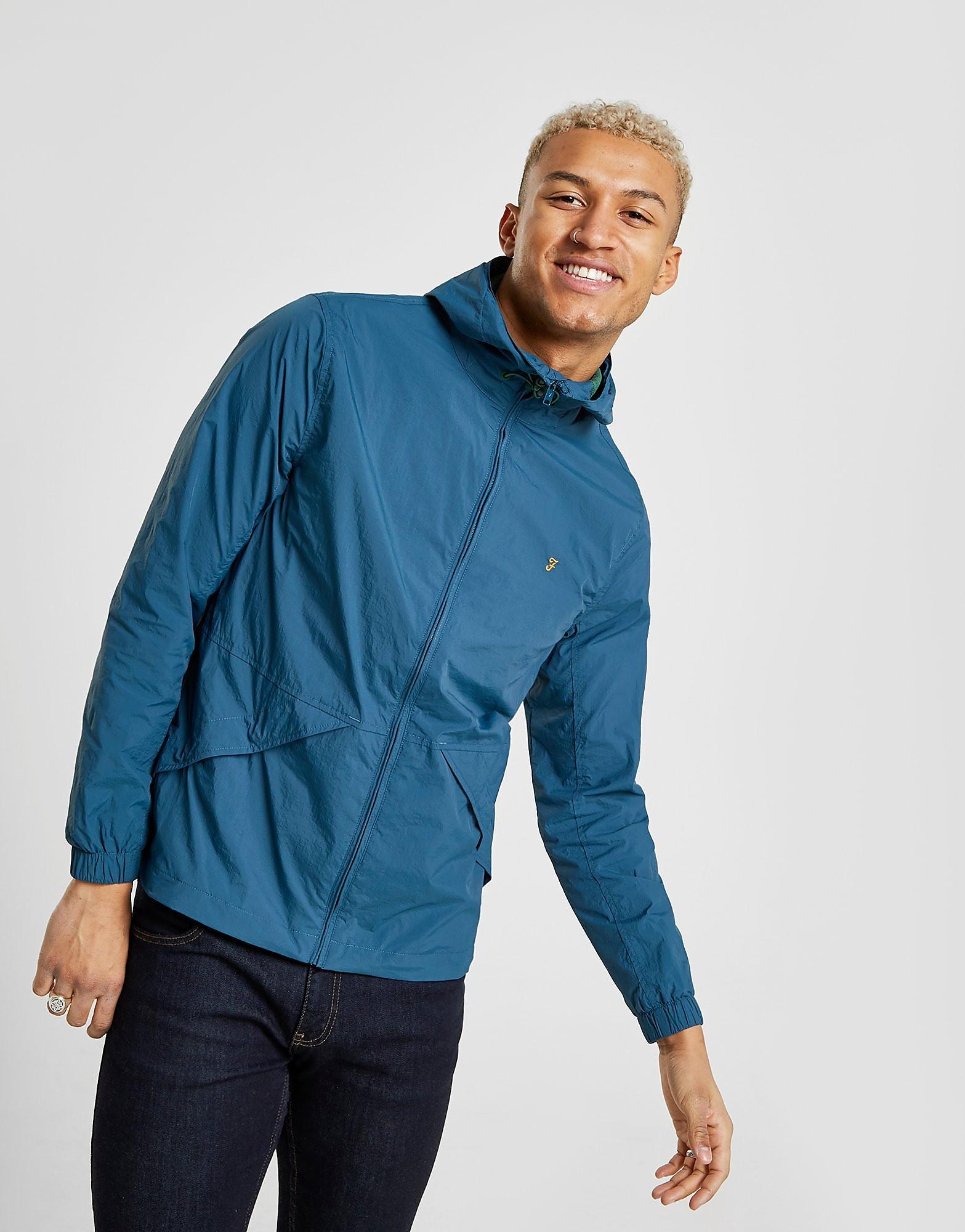 Farah Astoria Hooded Jacket Heren - Blauw - Heren