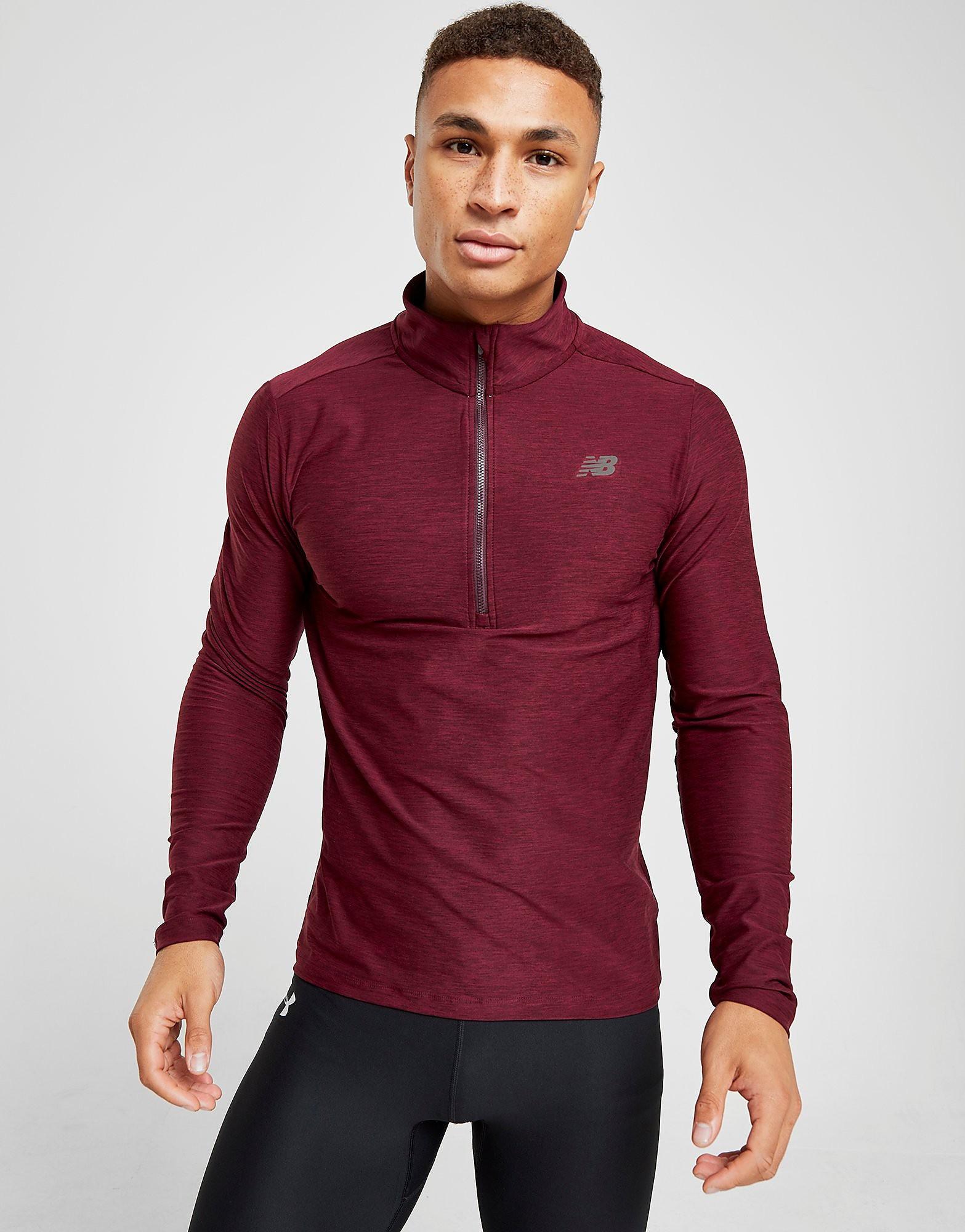 New Balance 12 Zip Space Dye Sweatshirt
