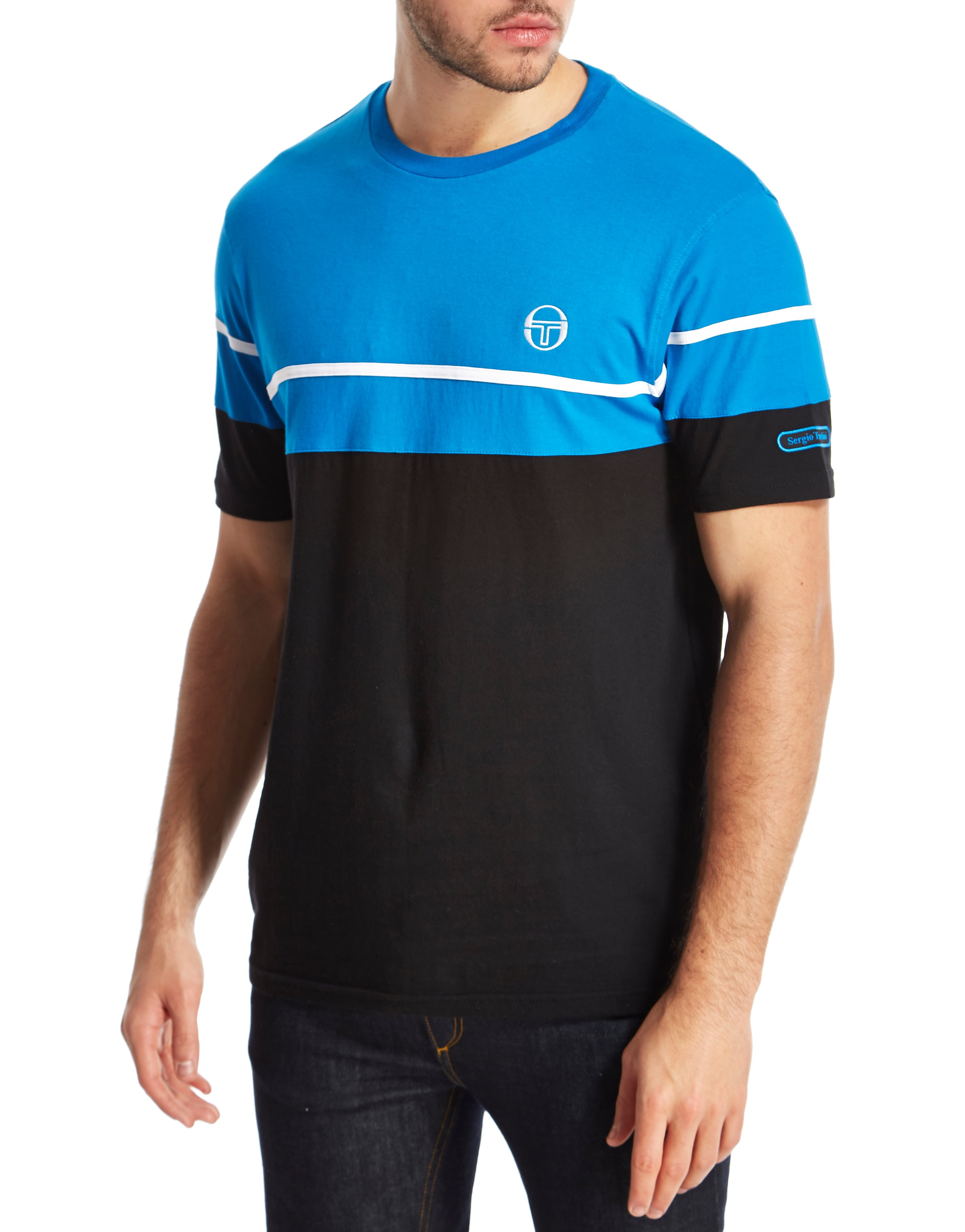Sergio Tacchini Panel T-Shirt