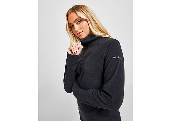 Ropa deportiva Mujer Columbia camiseta forro polar Glacial, Black