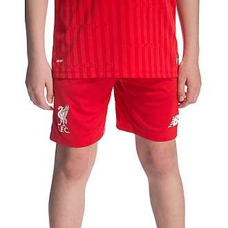 New Balance Liverpool FC 2015 Junior Home Shorts
