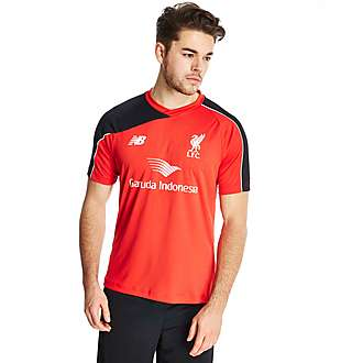 New Balance Liverpool FC 2015 Short Sleeve Training Shirt