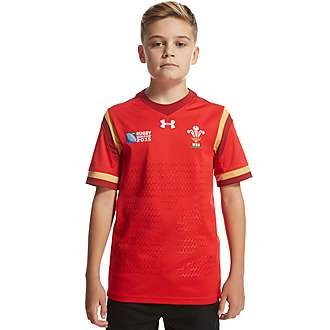 Under Armour Wales Rugby World Cup 2015 Shirt Junior