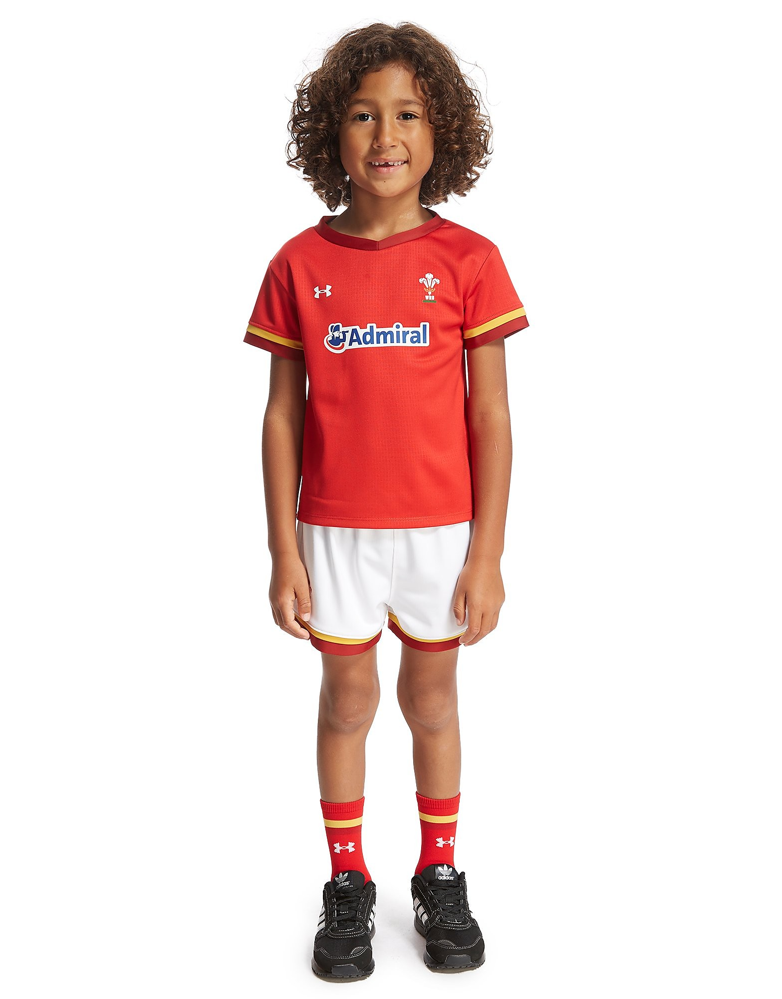 Under Armour Wales RU Home 2015/16 Kit Children