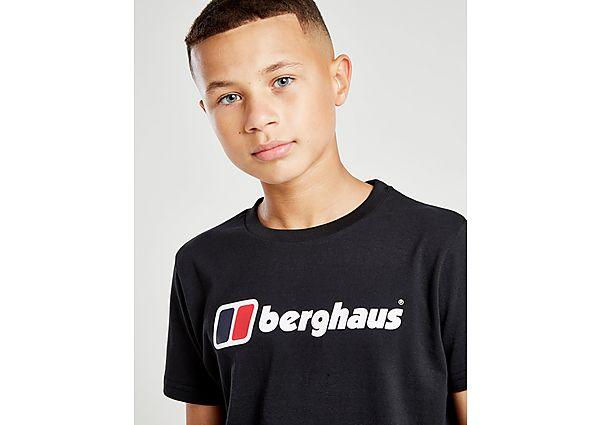 Comprar Ropa deportiva para niños online Berghaus camiseta Logo  júnior, Black