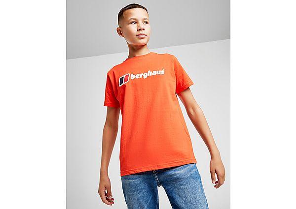 Comprar Ropa deportiva para niños online Berghaus camiseta Logo  júnior, Red