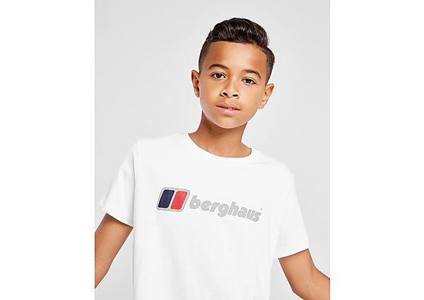 Comprar Ropa deportiva para niños online Berghaus camiseta Logo  júnior, White