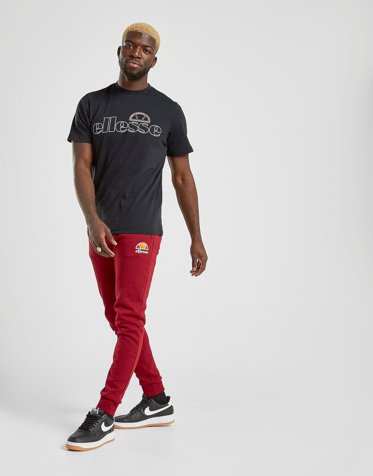 Ellesse Rick Joggers Rood Heren Rood