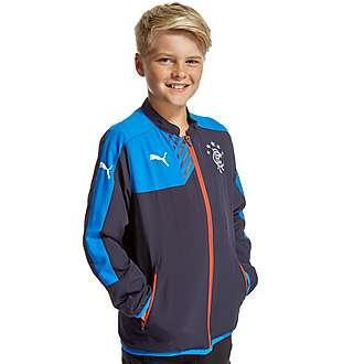 PUMA Rangers FC Leisure Jacket Junior