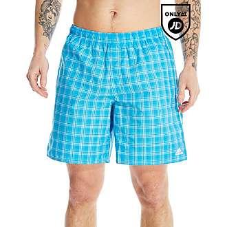 adidas Check Shorts