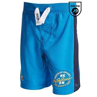 Nickelson Plank Mesh Shorts Children
