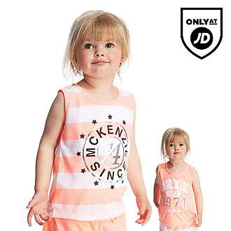 McKenzie Girls Channing 2 Packet Vest Infant