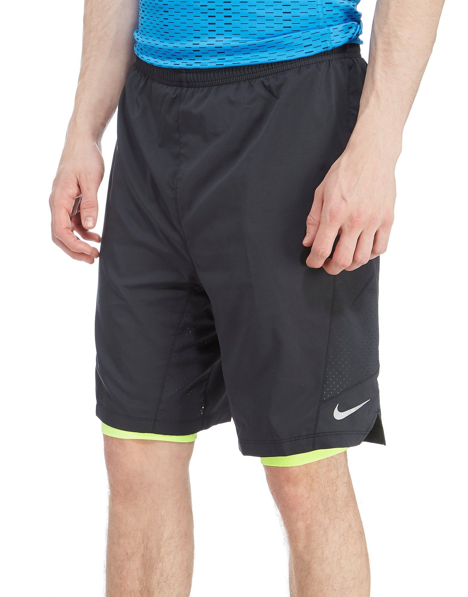 Nike Pursuit 9 Inch 2 In 1 Shorts