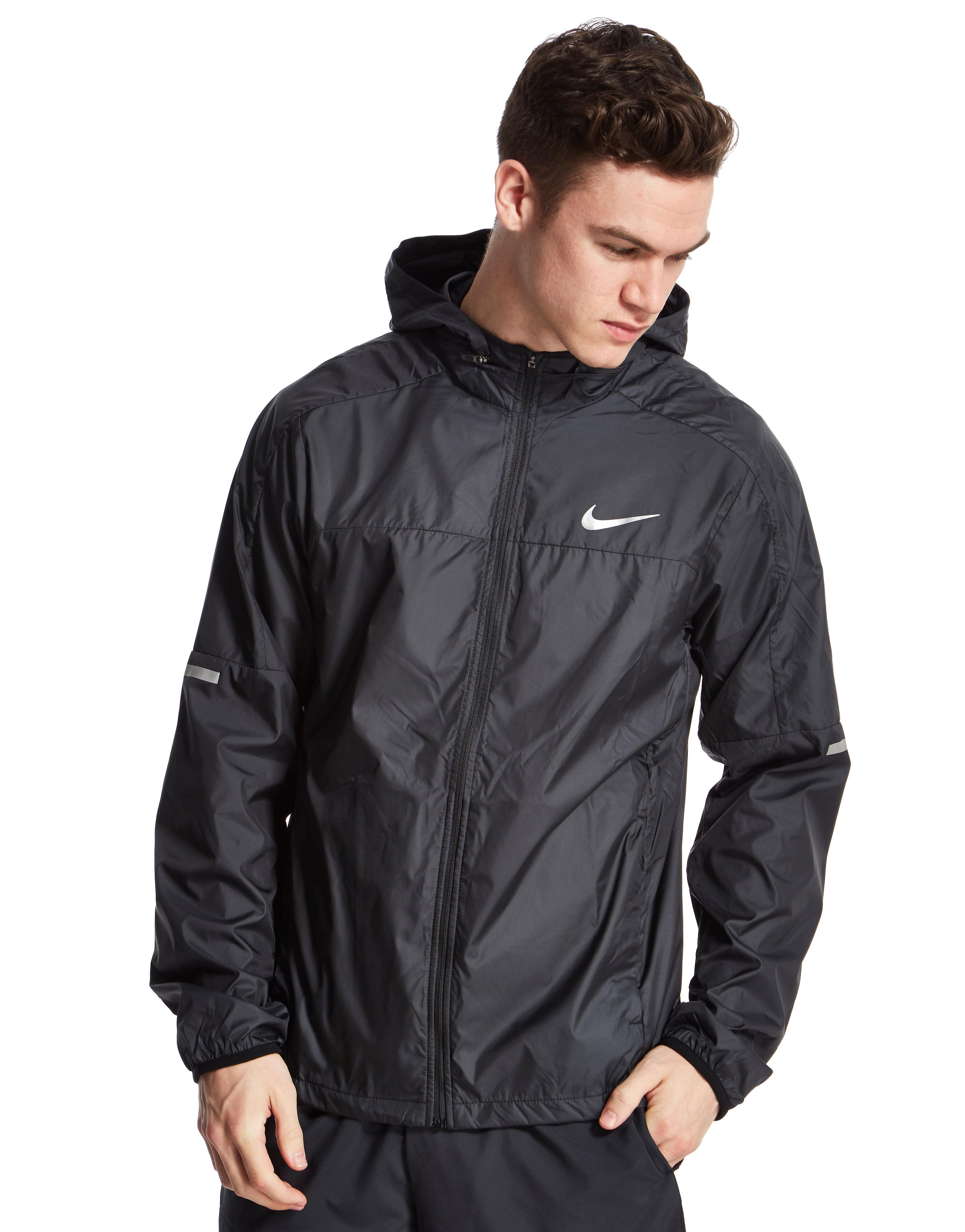 nike air max half zip chevron jacket black mens black. Black Bedroom Furniture Sets. Home Design Ideas