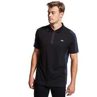 Lacoste Zip Up Polo Shirt