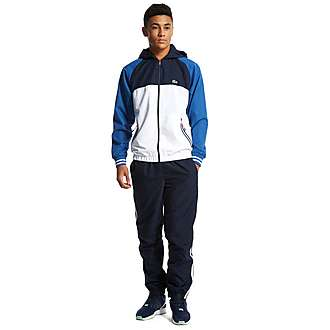 Lacoste Colour Block Hooded Tracksuit