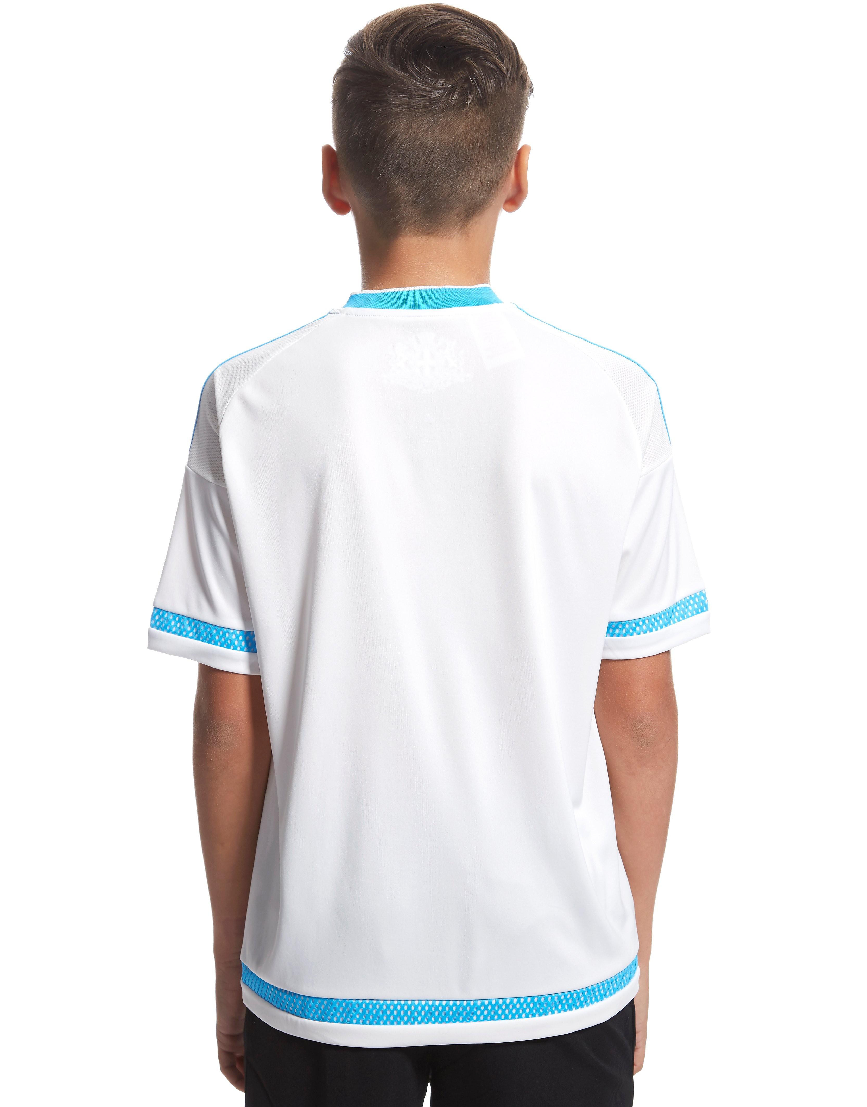 adidas Olympique de Marseille Home 2015/2016 Shirt Junior