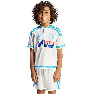 adidas Olympique de Marseille Home 2015/16 Kit Children