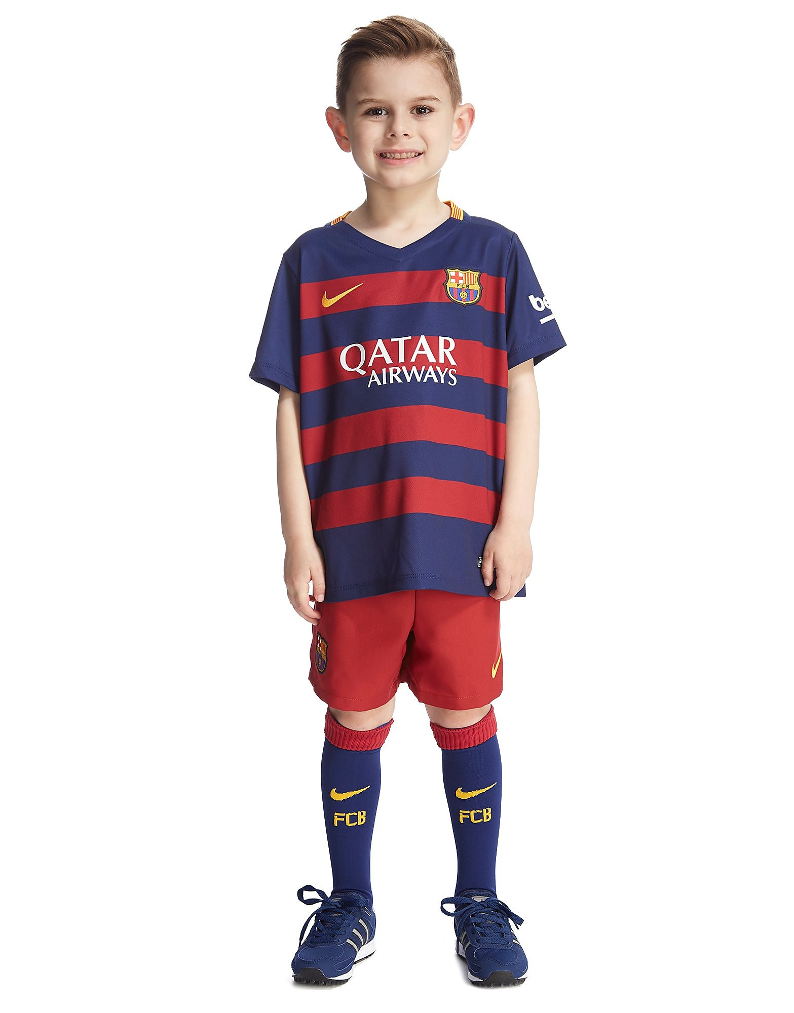 Nike FC Barcelona 2015 Home Kit Children