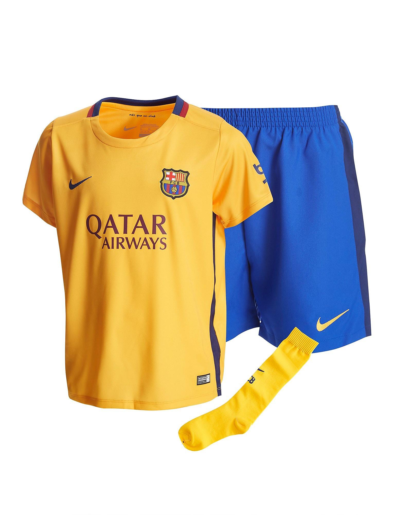 Nike FC Barcelona 2015 Children's Away Kit