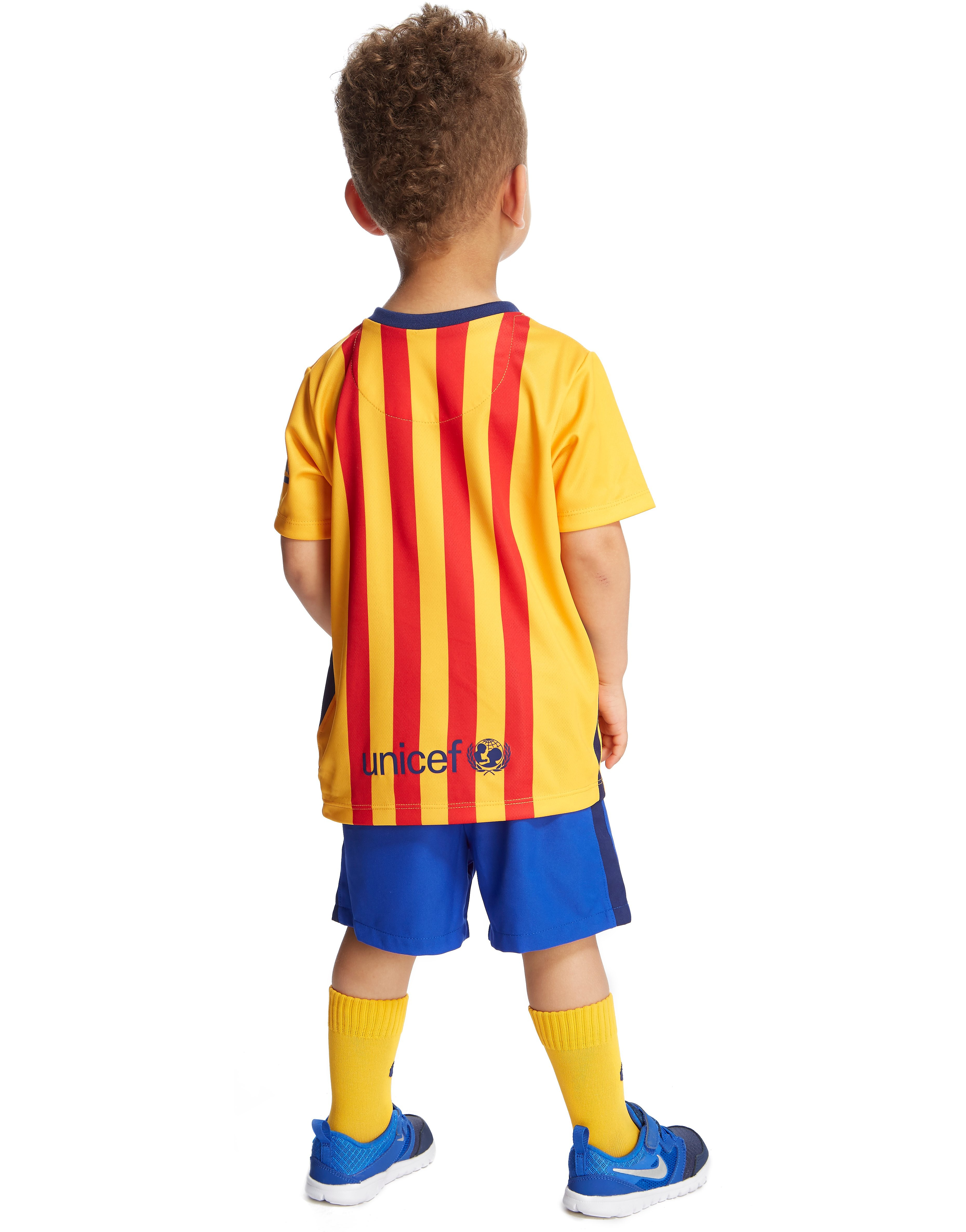 Nike FC Barcelona 2015 Infants' Away Kit