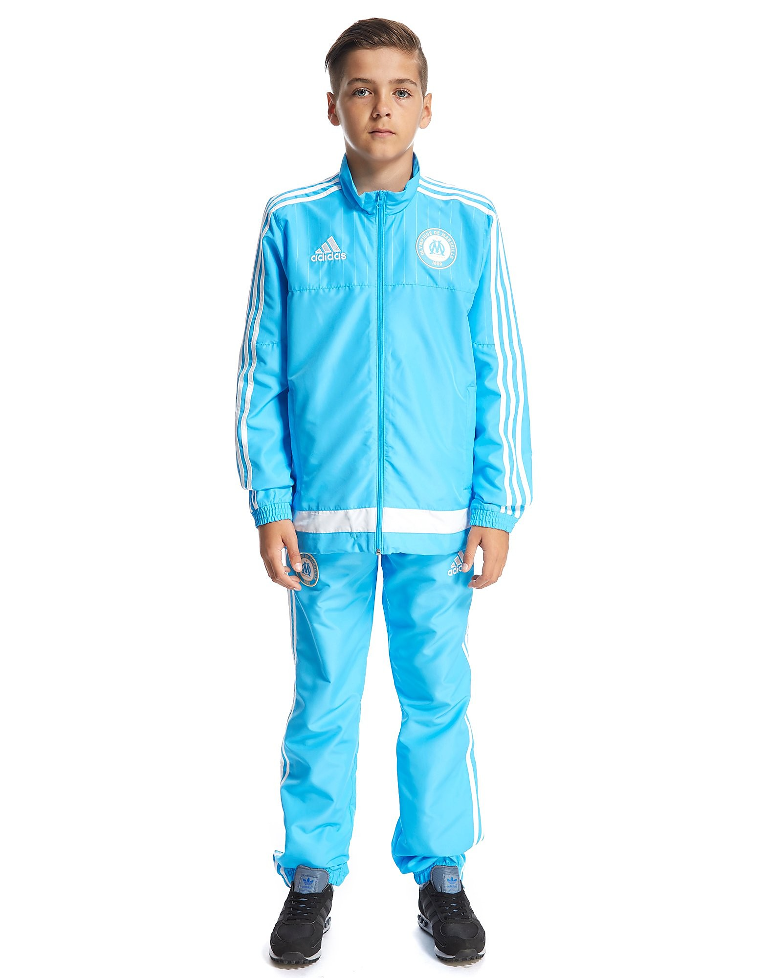 adidas Olympique de Marseille Presentation Suit Junior