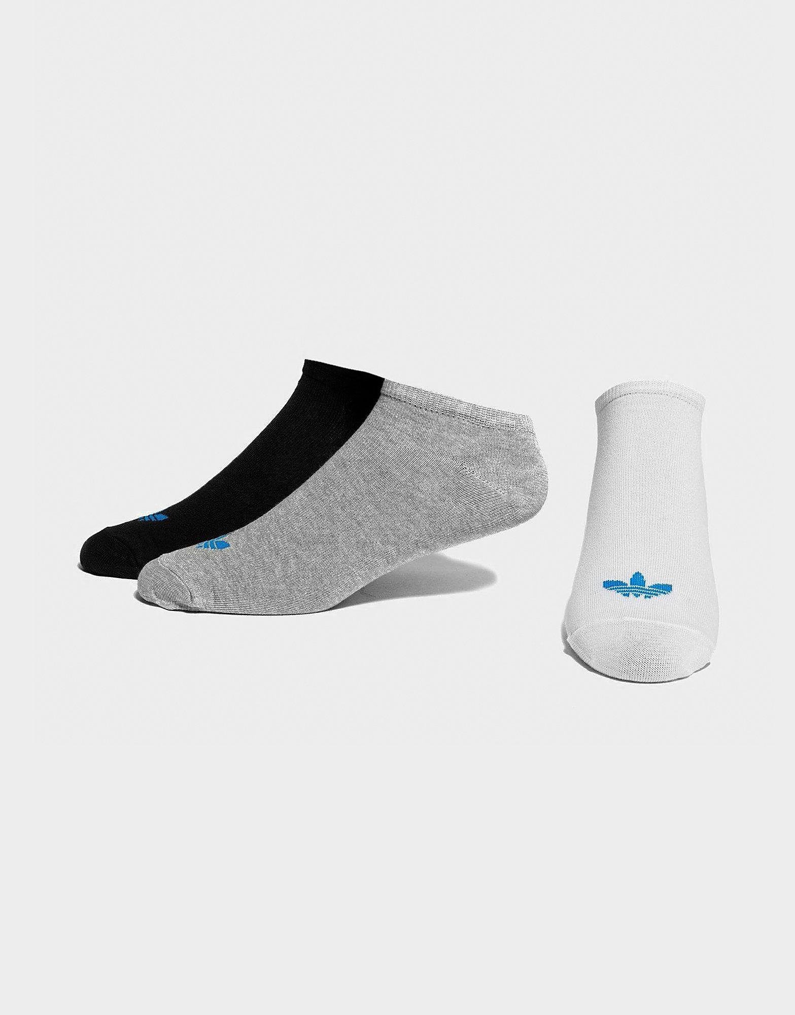 adidas Originals 3-Pack Trefoil Liner Socks