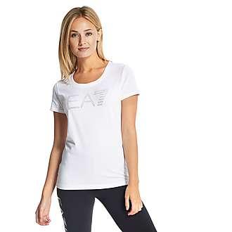 Emporio Armani EA7 Strass T-Shirt
