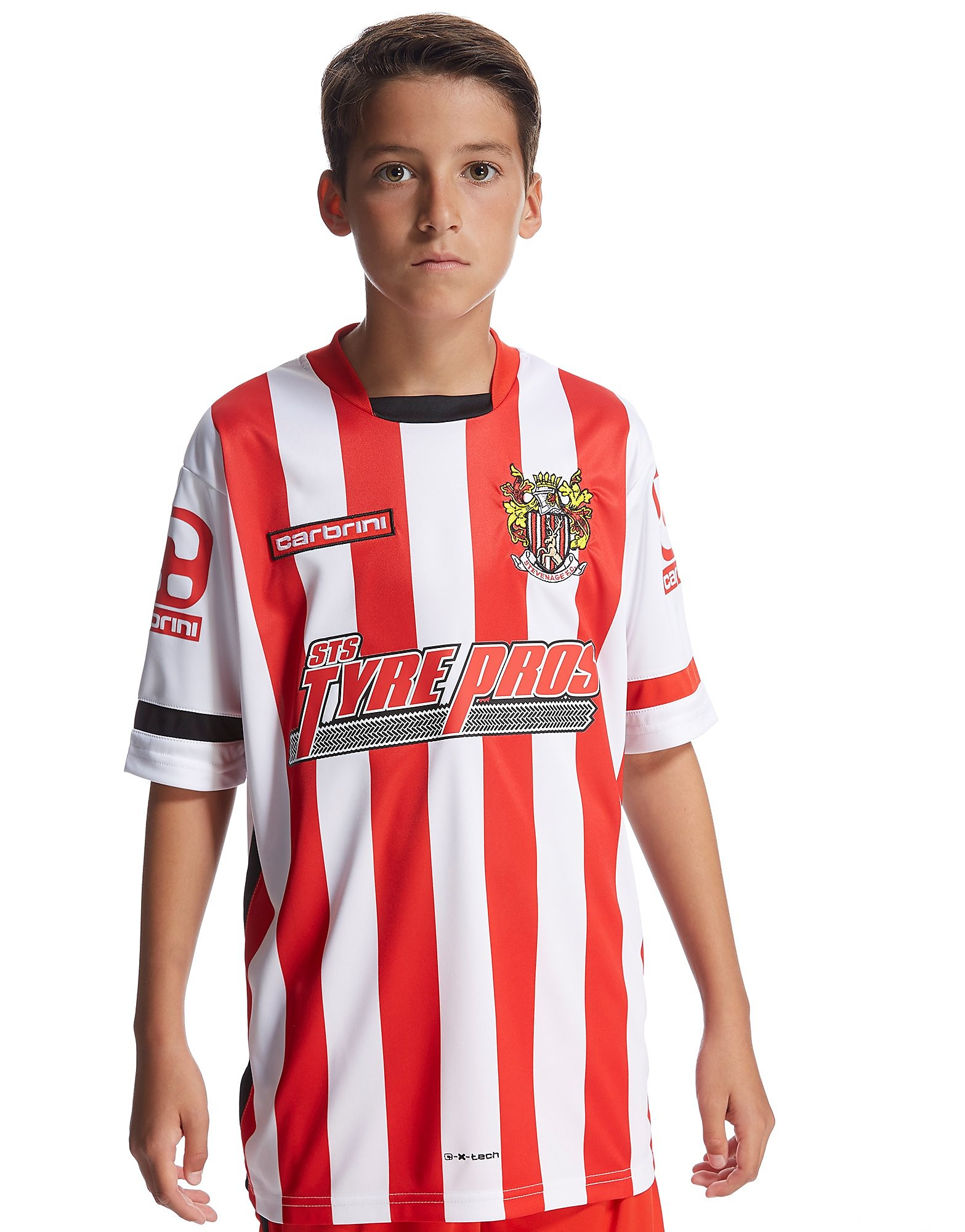 Carbrini Stevenage FC Home 2015 Shirt Junior