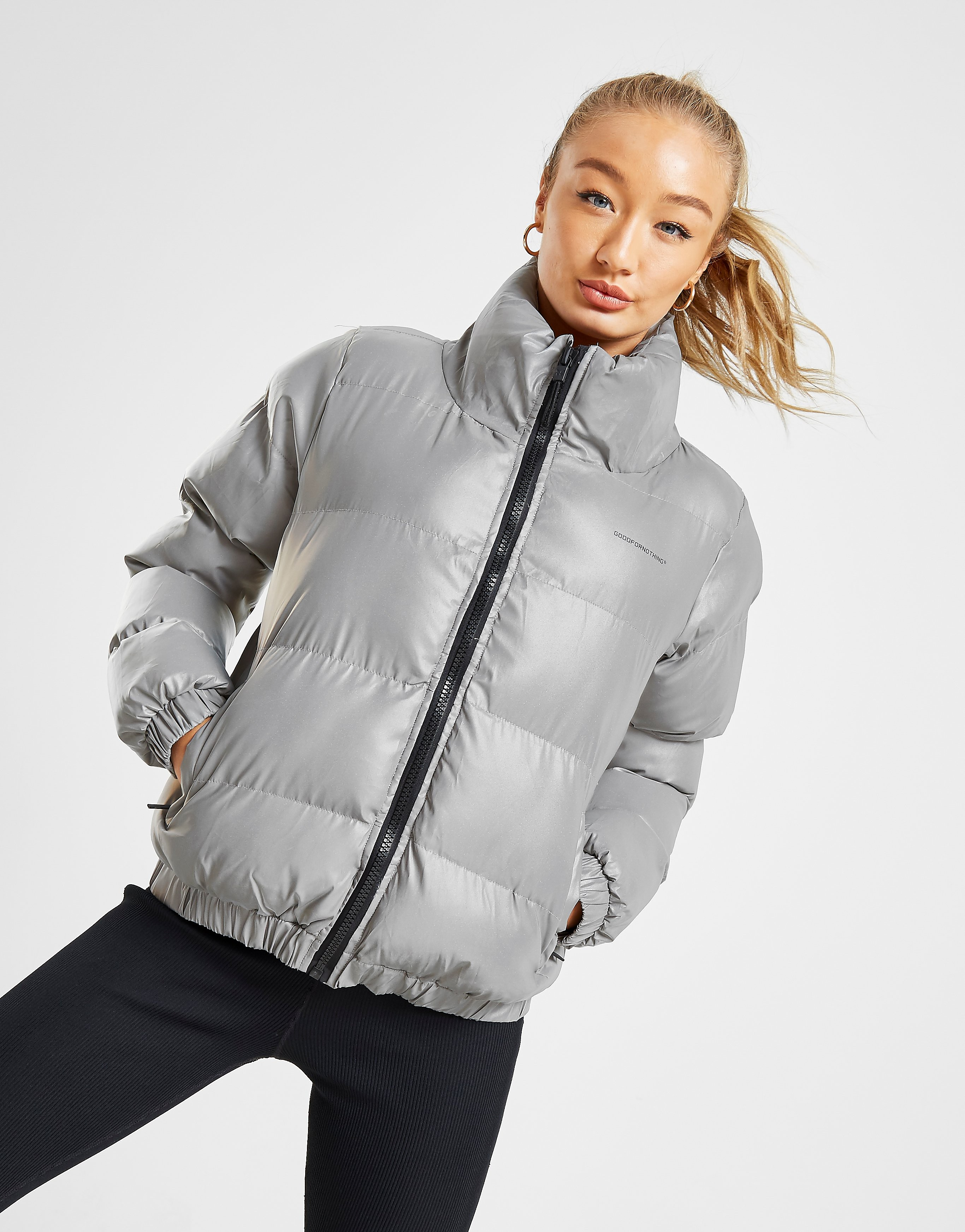 Good For Nothing Road Jacket Zilver