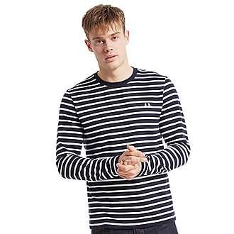 Fred Perry Long Sleeved Breton Sweatshirt