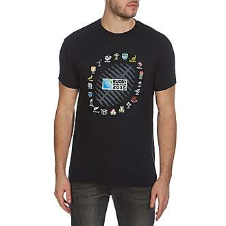Canterbury Rugby World Cup 2015 20 Nations T-Shirt